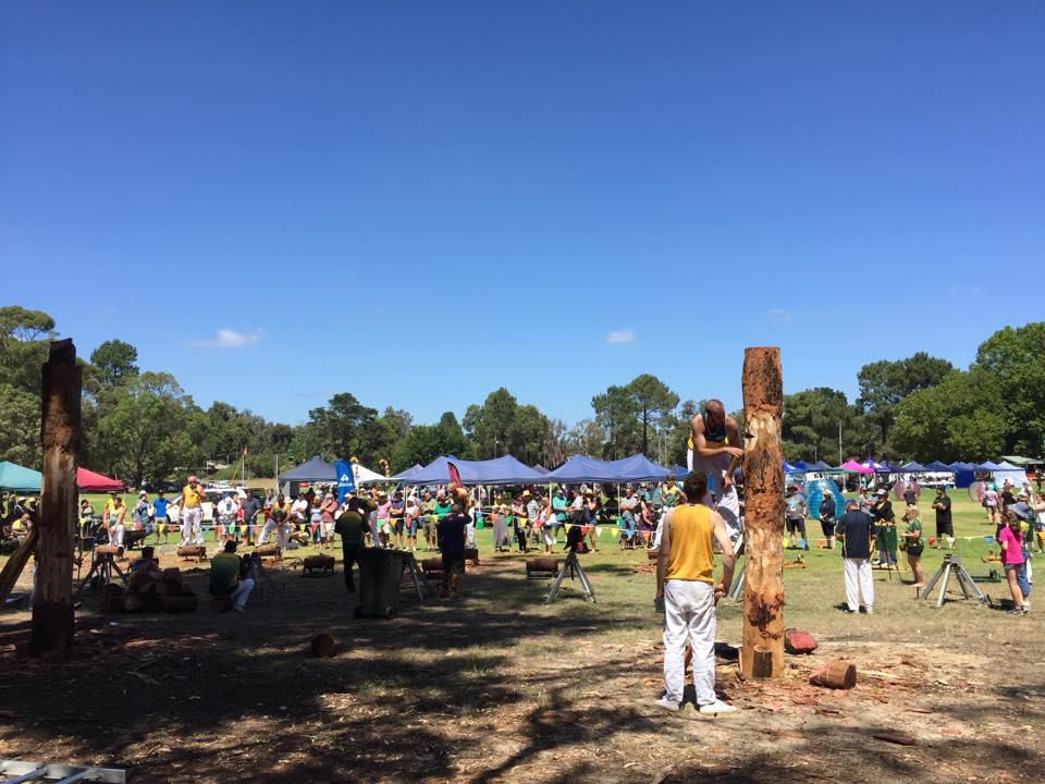 Cadets and Seniors at the Dwellingup Log Chop and Fair 2020 – Saturday 15 February
