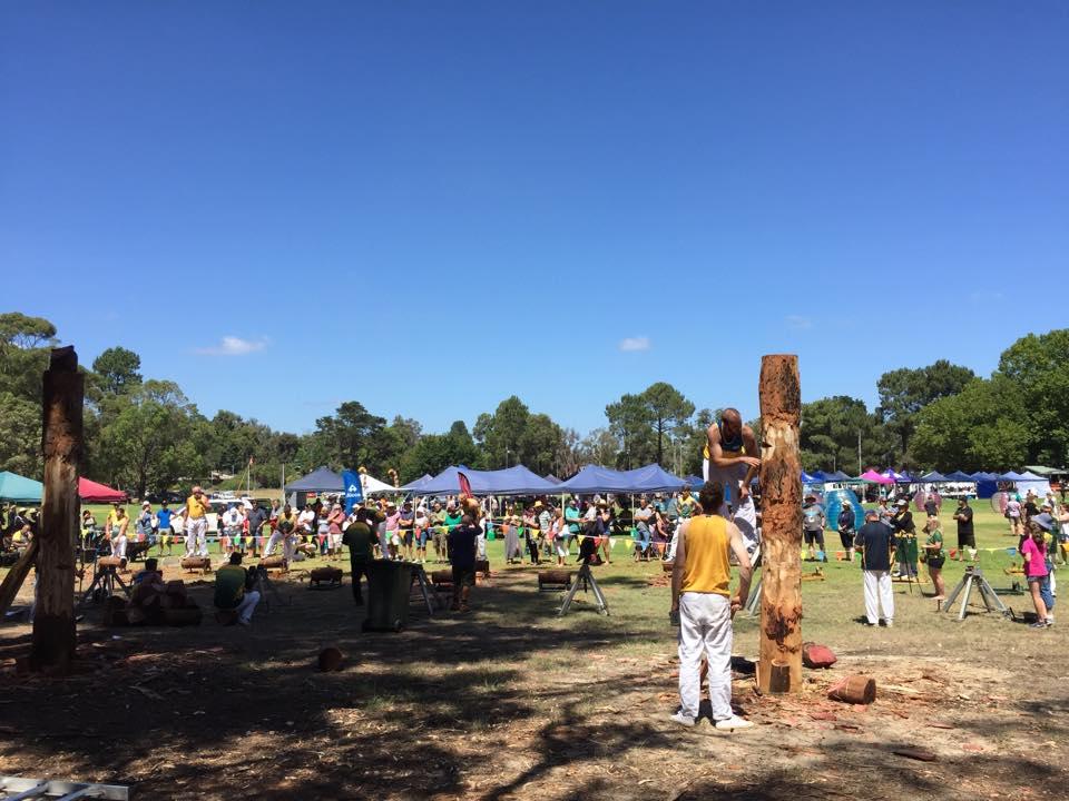 Cadets and Seniors at the Dwellingup Log Chop and Fair 2020 – Saturday 15 February