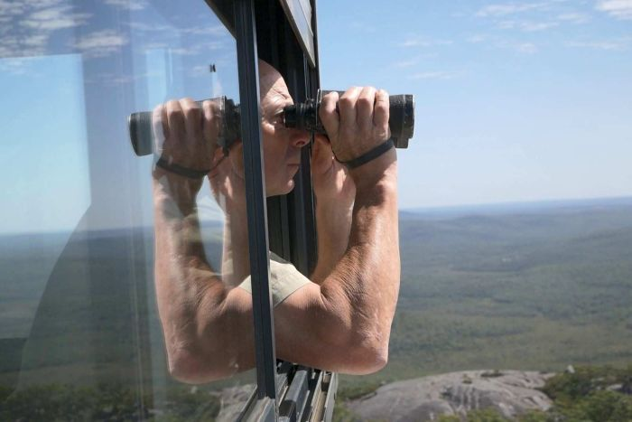 ABC: West Australian tower watchers are the state's first line of defence against bushfires