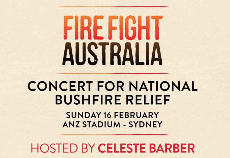 Fire Fight Australia concert for national bushfire relief