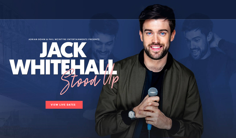 Win a double pass to Jack Whitehall Live at RAC Arena
