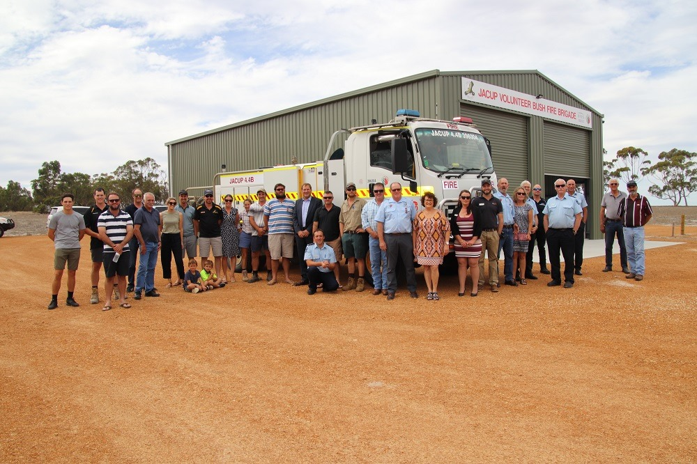 After almost 60 years, Jacup Volunteer Bush Fire Brigade gets a home