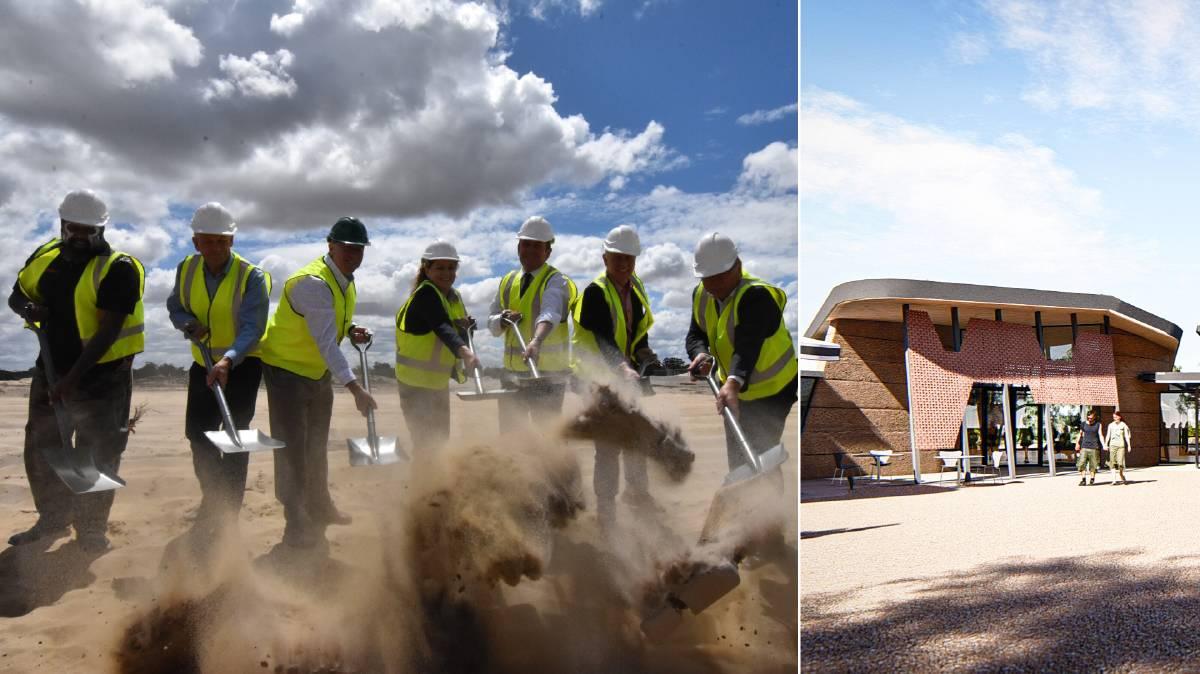 Bushfire Centre of Excellence Smoking Ceremony Western Australia February 2020