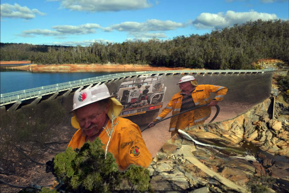 "Calling artists with big ""Bushfire Volunteers"" concepts"