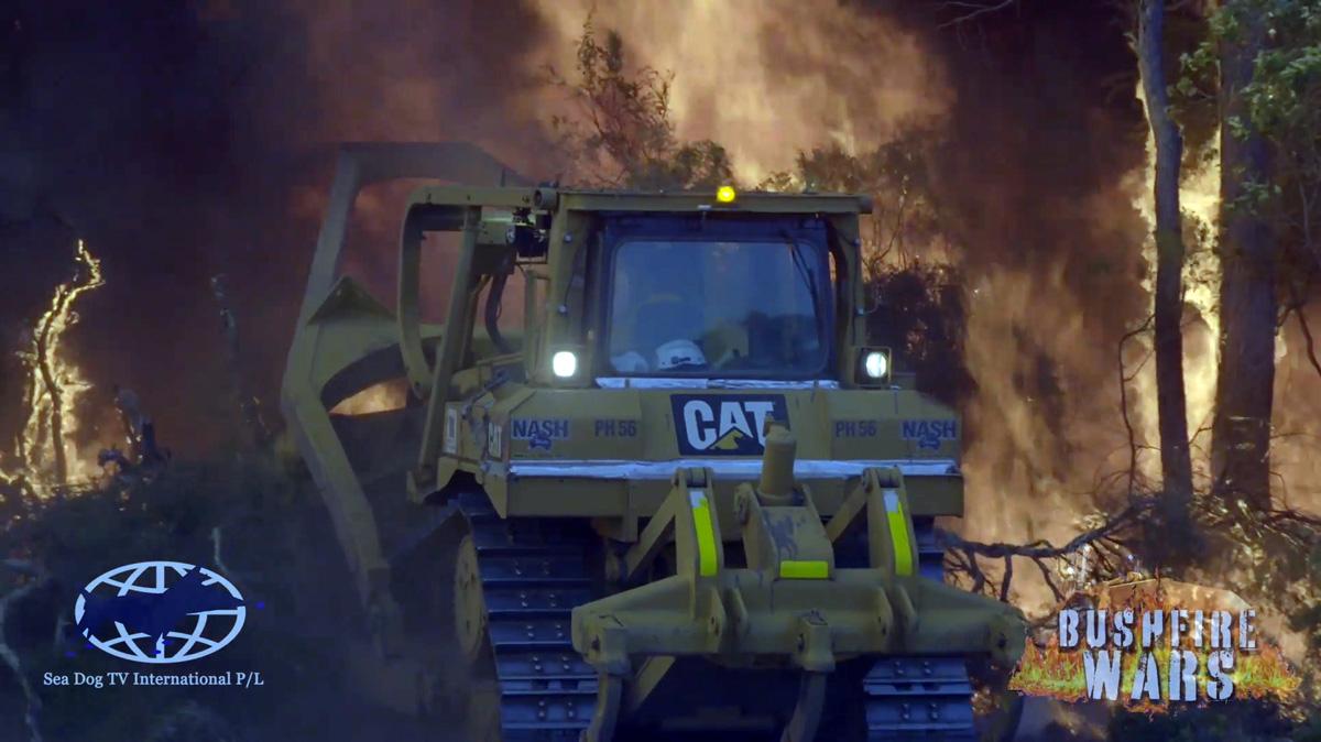Footage from Sea Dog TV International Bushfire Wars filmed in Western Australia 2020