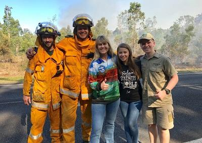 Australia Zoo offers free entry to firefighters
