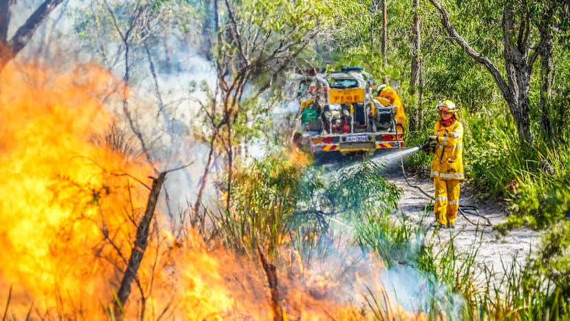 Wallcliffe Volunteer Bushfire Brigade will go ahead with the DFES transition talks, alongside Rosa Brook volunteers. Credit: Sean Blocksidge