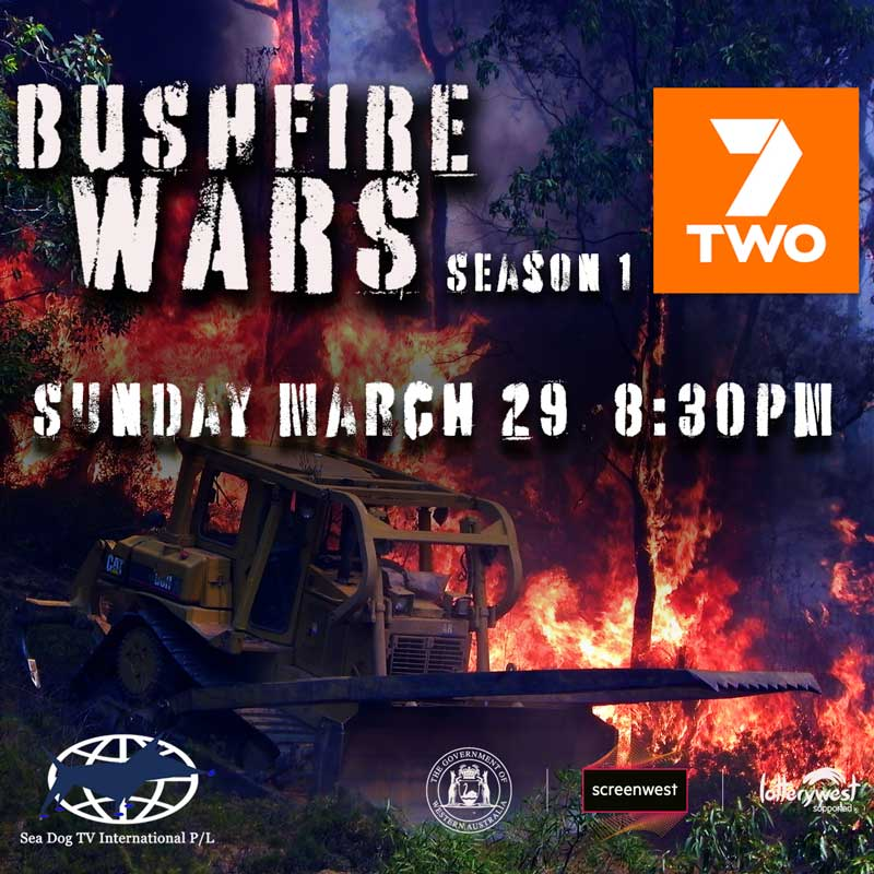Cabin fever? Watch Bushfire Wars this Sunday on 7TWO at 8:30pm