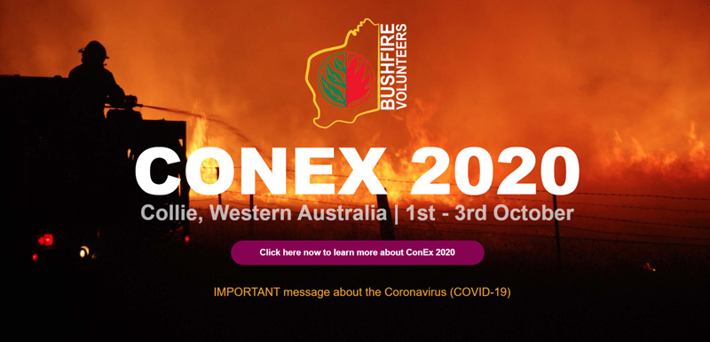 Strong support for Bushfire Volunteer Convention and Exhibition