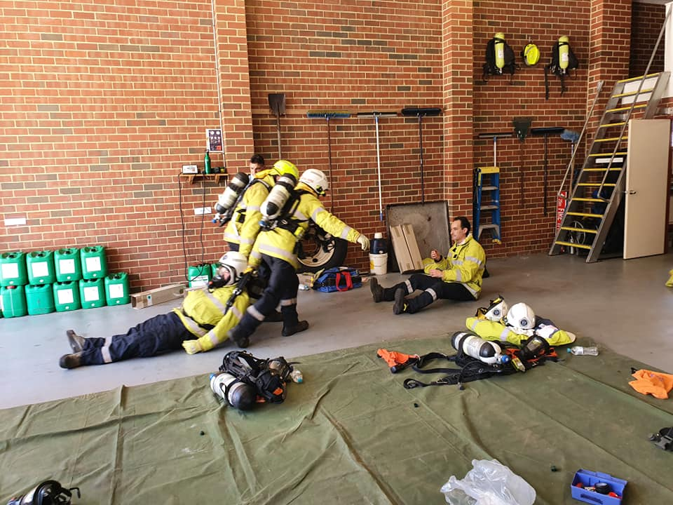 Mt Helena BFB Breathing Apparatus Training 29-02-2020