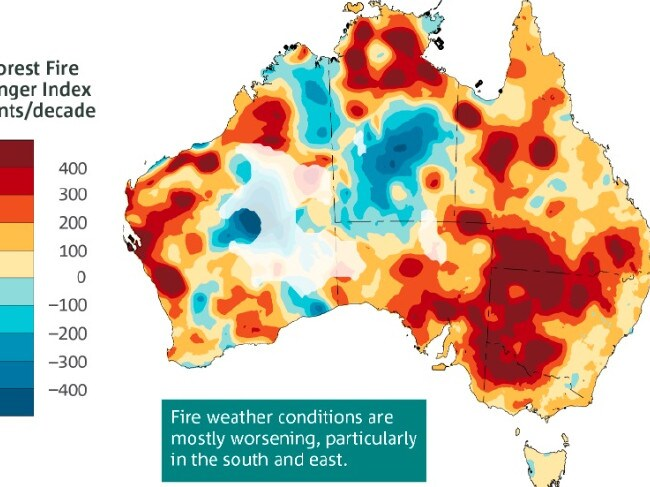How the bushfires ripped across Australia this summer. Source:Supplied