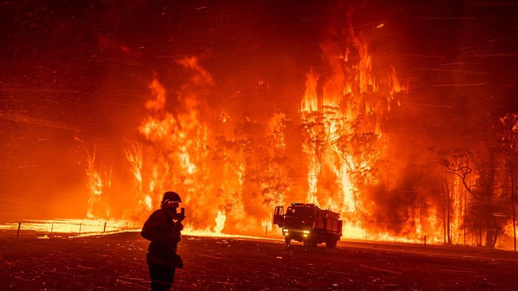 Australia's 2019-20 bushfire season was one of the most destructive on record. Picture: Matthew Abbott/Panos