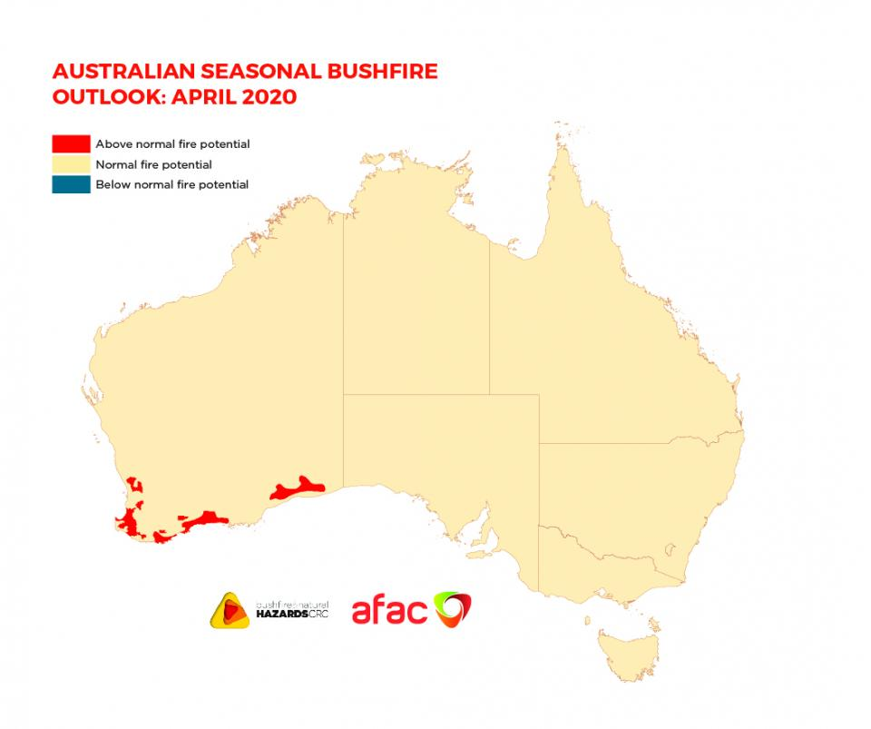 BNHCRC: Australian Seasonal Bushfire Outlook: April 2020