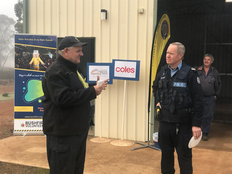 Coles Group and Bushfire Volunteers support Shire of Dumbleyung Community Day