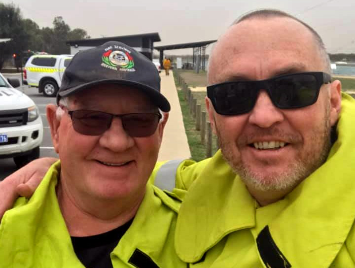 Chris (Ian) Hammond OAM and our Volunteer Engagement Manager Alex Espey