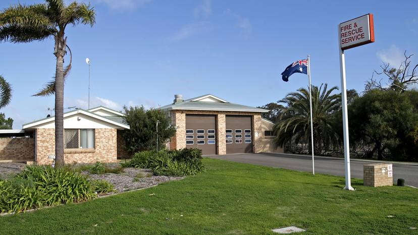 Joondalup Fire and Rescue Station in Drovers Place. Credit: David Baylis/Community News