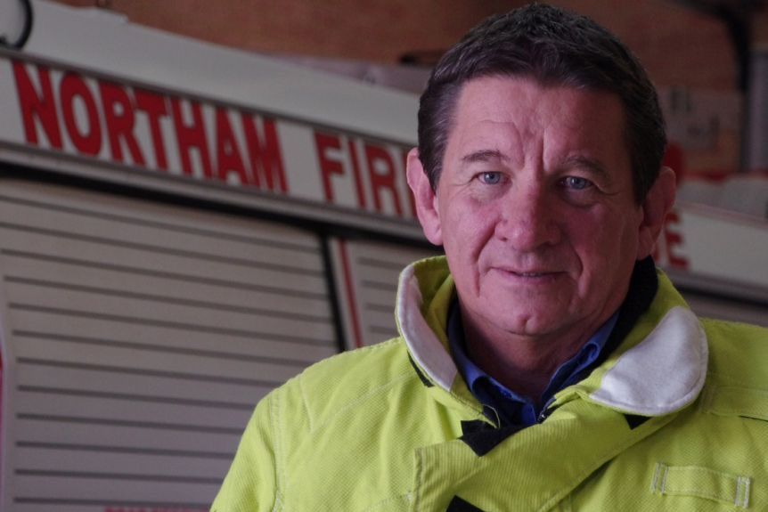 Paul du Boulay, President of the Volunteer Fire and Rescue Association, says some of his members have concerns about the code's wording.(ABC Supplied)