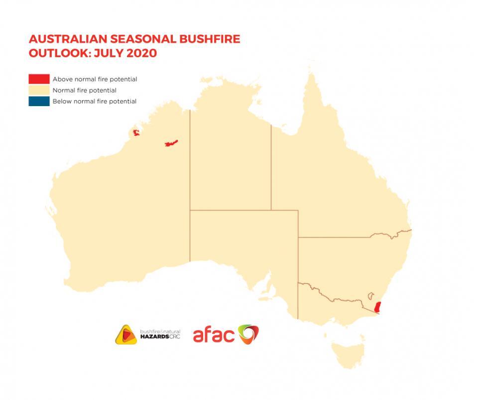 BNHCRC: Australian Seasonal Bushfire Outlook: July 2020