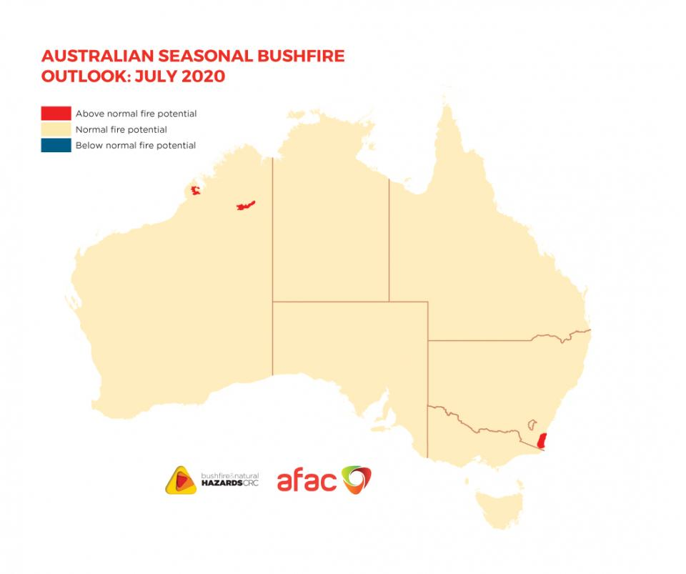 BNHCRC: Australian Seasonal Bushfire Outlook: July 2020