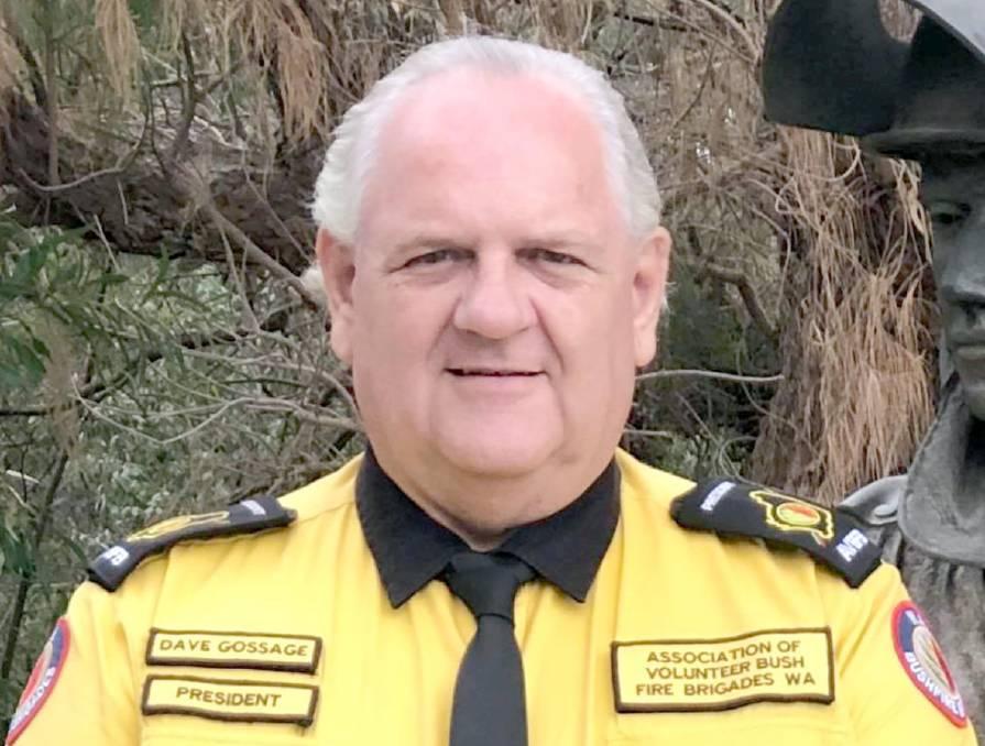 Bushfire Volunteers' President Dave Gossage. Image Farm Weekly