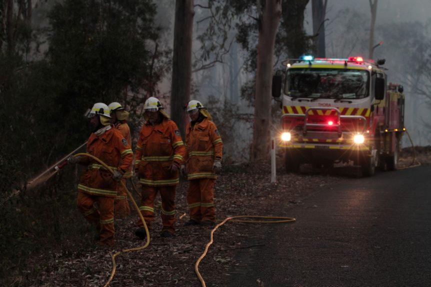 The NSW RFS will have enhanced powers to prepare for and fight bushfires.(ABC News: Jerry Rickard)