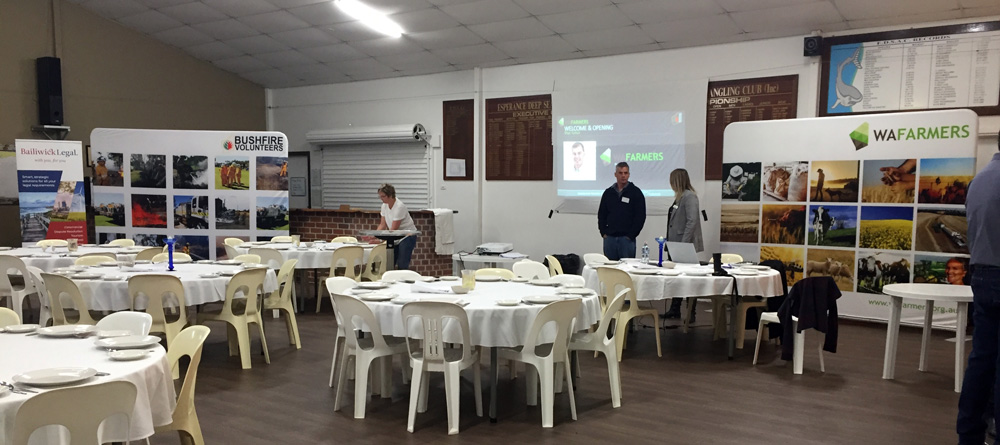 Saving the best until last: Esperance WAFarmers Roadshow biggest turnout of all