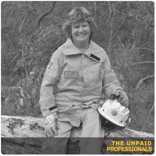 Unpaid Professionals - Bev Seeney - Somerset Volunteer Bush Fire Brigade - Denmark Western Australia