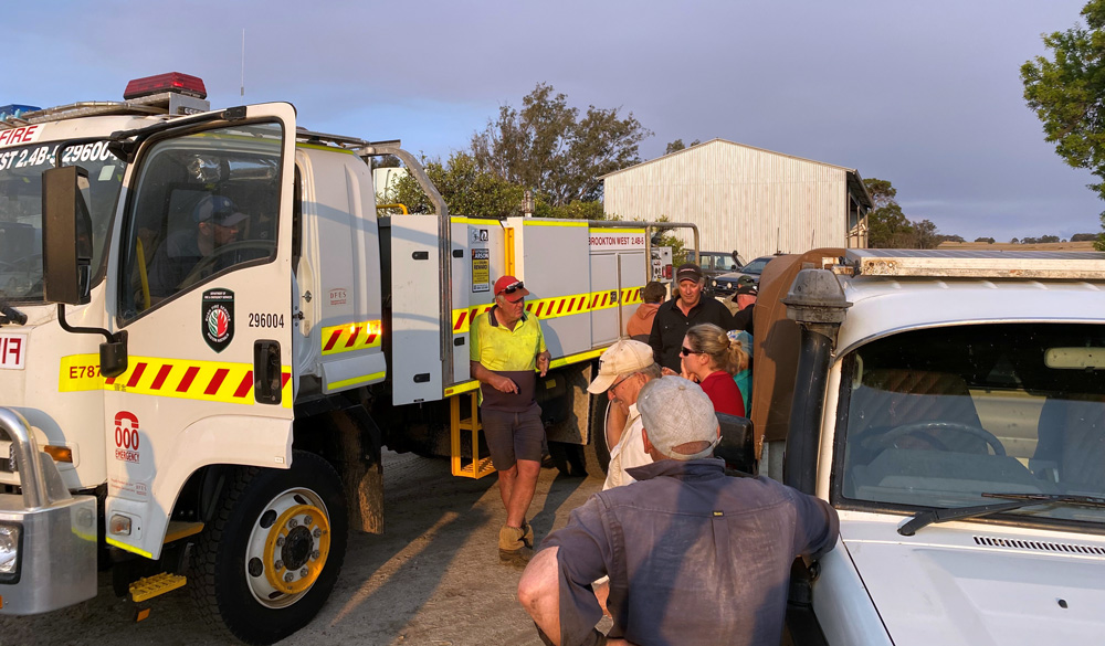 Preseason Training: Brookton West Volunteer Bushfire Brigade