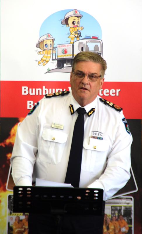 Craig Waters at Bunbury Volunteer Bush Fire Brigade 1 #IVD2020