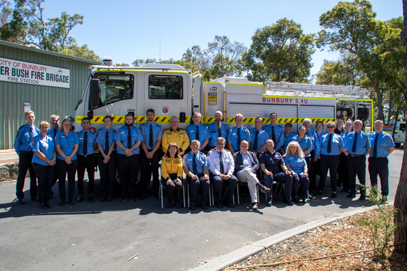 Bunbury Volunteer Bush Fire Brigade International Volunteer Day celebration