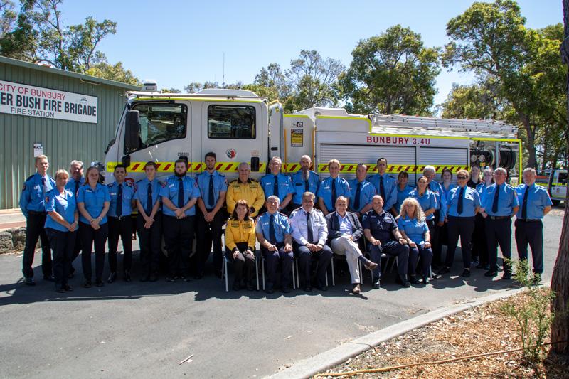 Bunbury Volunteer Bush Fire Brigade International Volunteer Day celebration