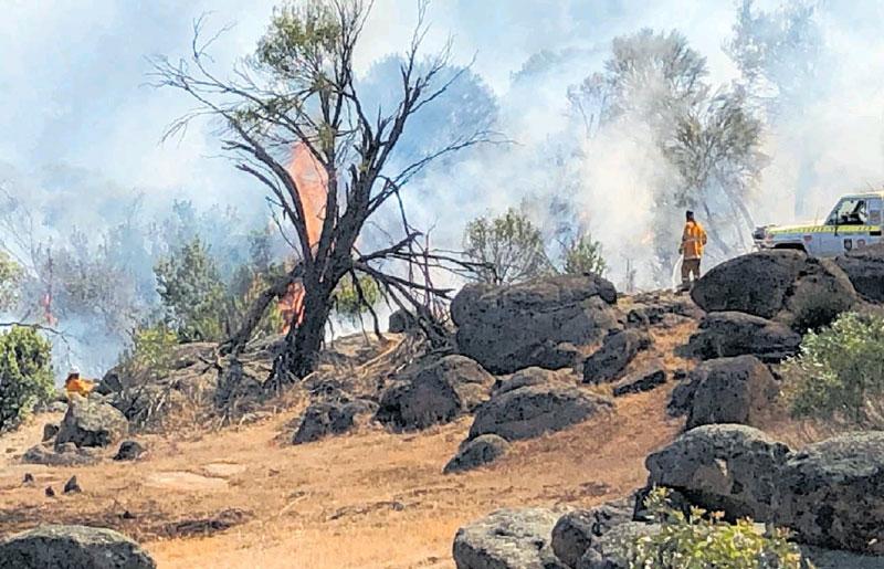 Countryman: Header fires spark warning