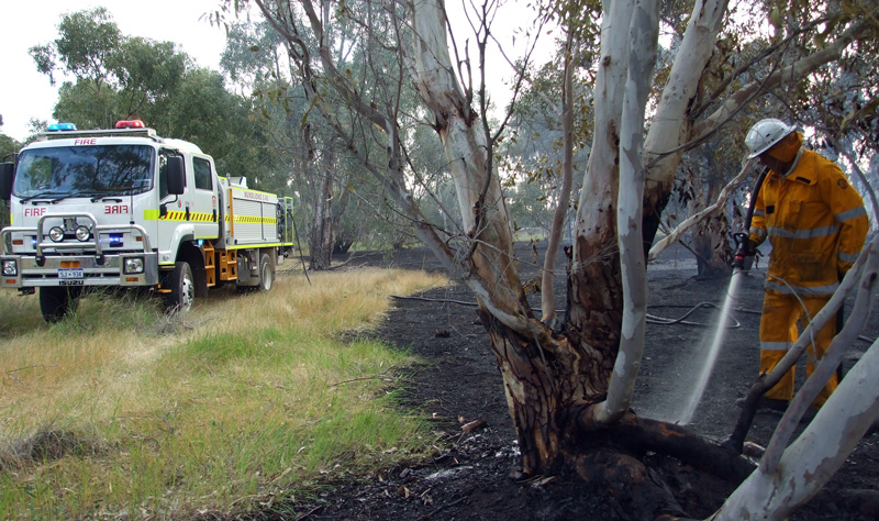 Bushfire Volunteers: Presidents' Tales from the road
