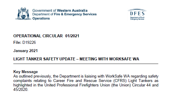 Worksafe issues 5 Improvement Notices for Light Tankers