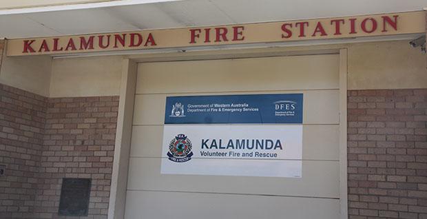 Kalamunda VFRS Station. Image ECHO News