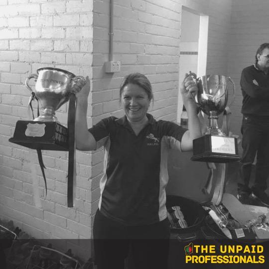 Unpaid Professionals – Jen Armitage – Harvey Brunswick Leschenault Football Club