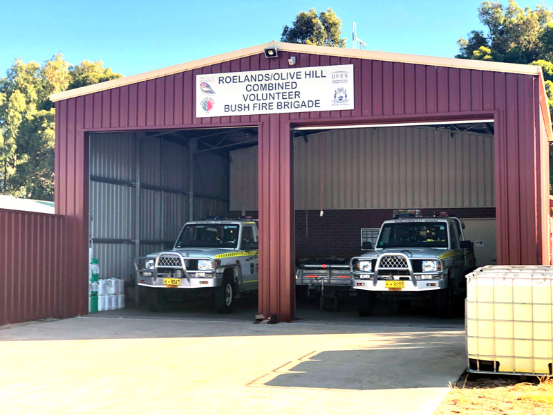 The Roelands-Olive Hill Volunteer Bush Fire Brigade 12-01-21