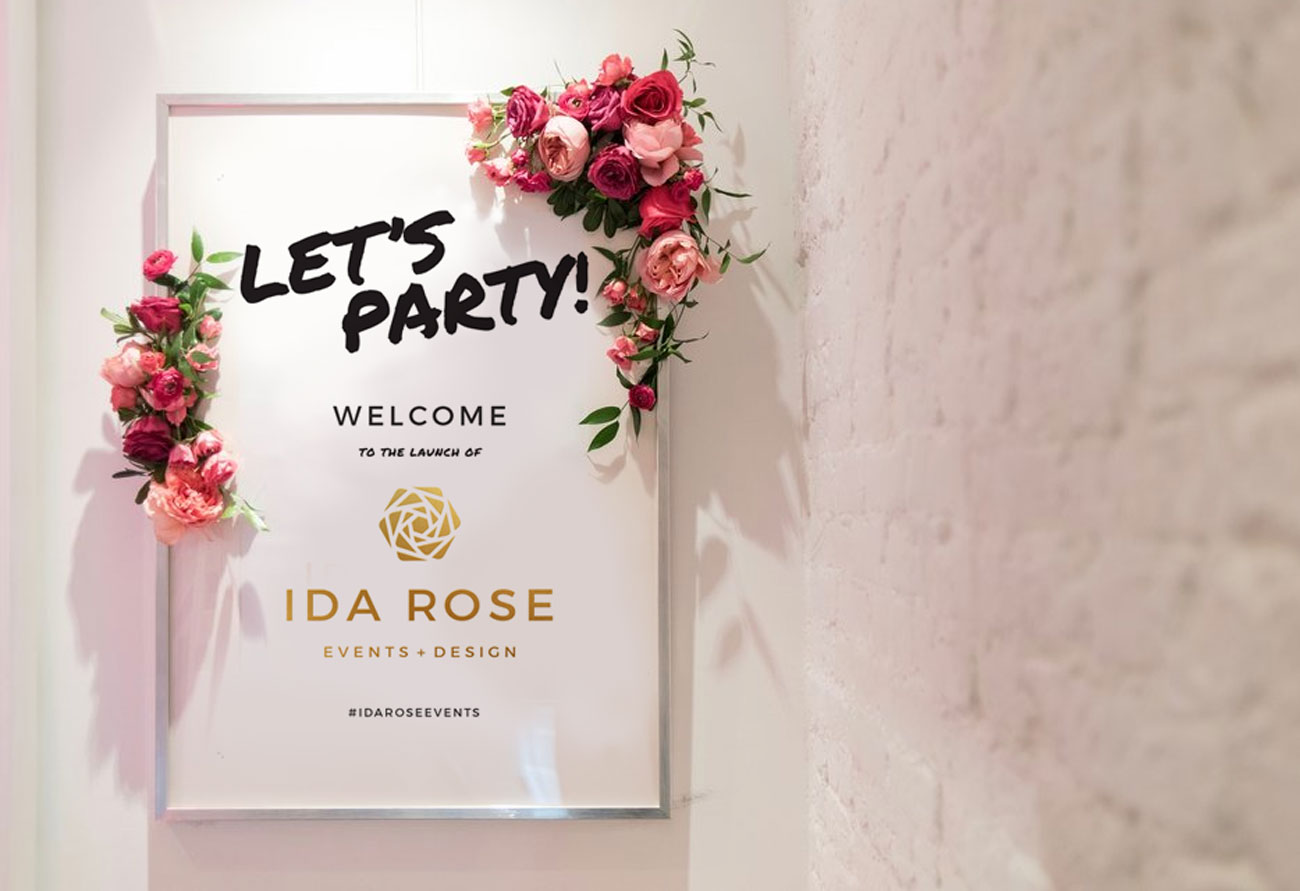 Launch Party Sign