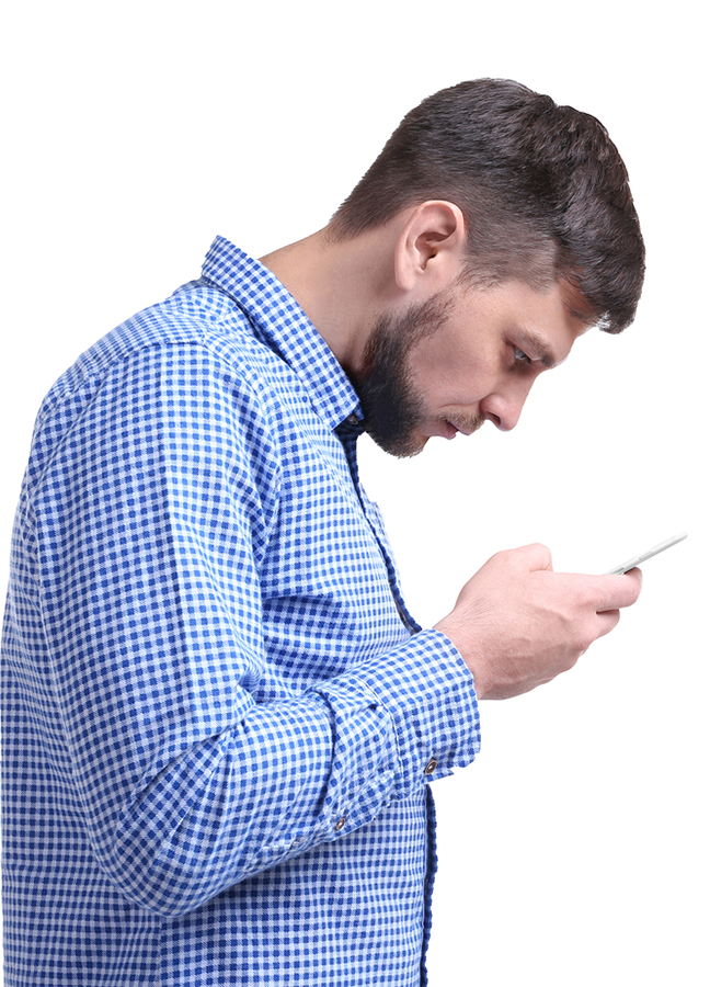 Neck Pain and Bad Posture from Using Cell Phone - Posture Analysis