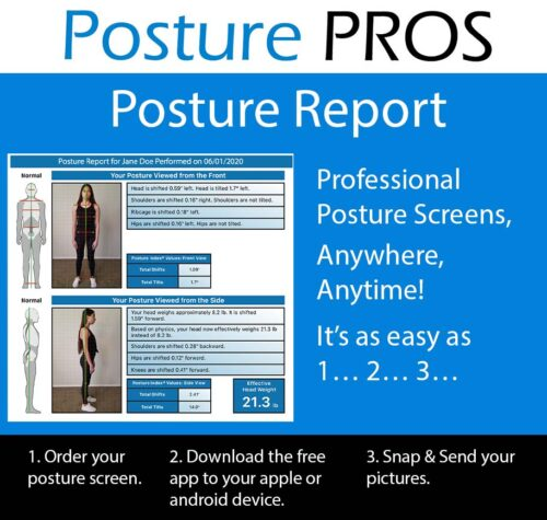 POSTURE ANALYSIS POSTURE PROS POSTURE SCREEN
