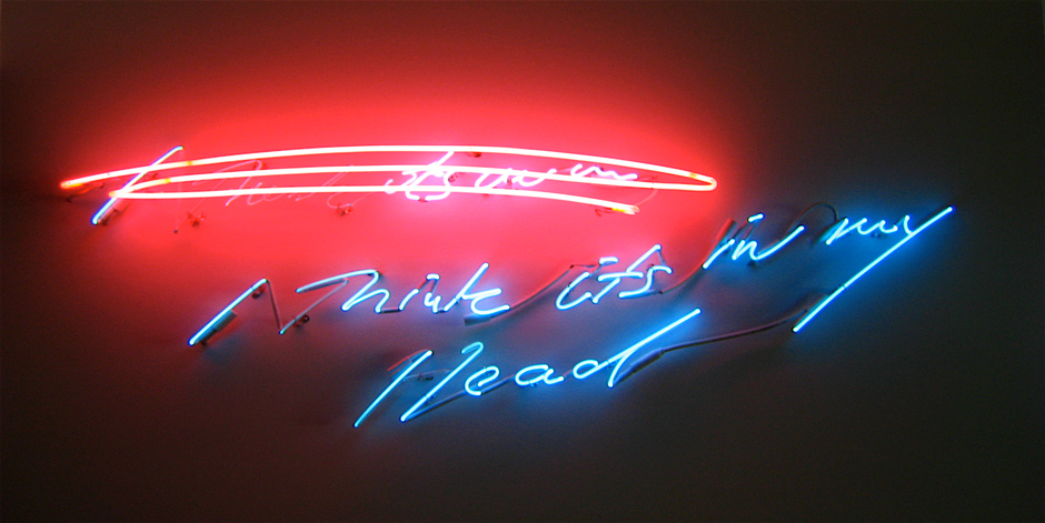 Tracey Emin, I think it's in my head, 2002