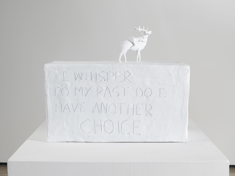 Tracey Emin, I whisper to my past do I have another choice, 2013