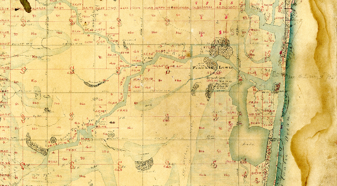 Frankee Lewis Land Spanish Grant - image courtesy the Fort Lauderdale Historical Society