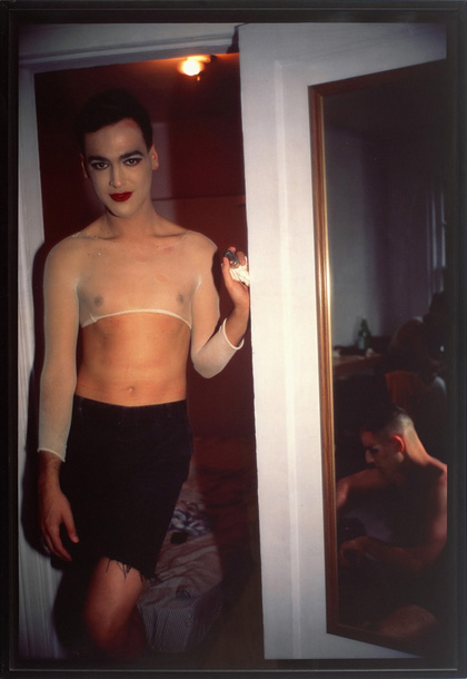 Nan Goldin, Jimmy Paulette and Tabboo! Undressing, NYC, 1991