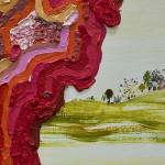 "Lisa Sanditz, ""Pink Slime"" (detail), 2014"