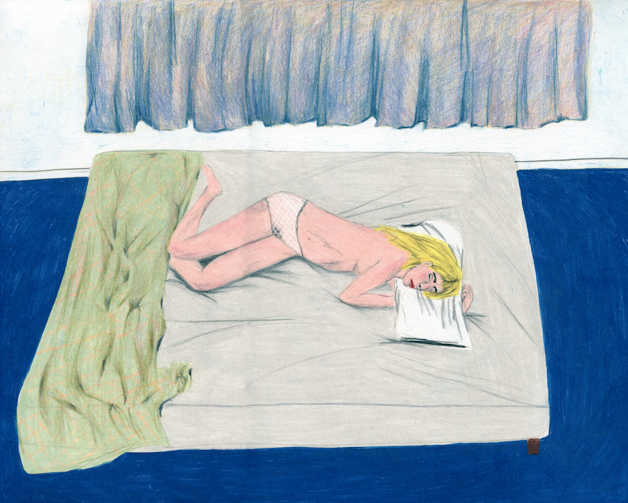 Drawing by Adriana Lozano