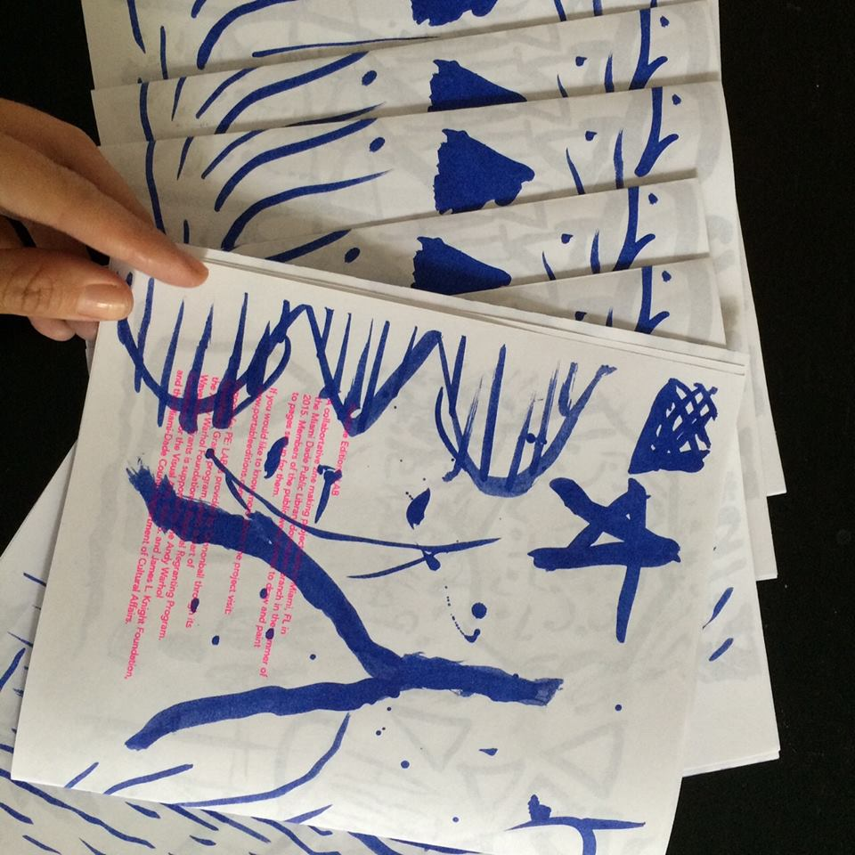 Portable Editions LAB: Risograph printing