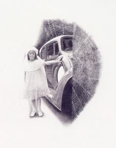 "Peggy Prehiem, Confirmation, 2008 Photograuvre, 16 x 12"" paper size"