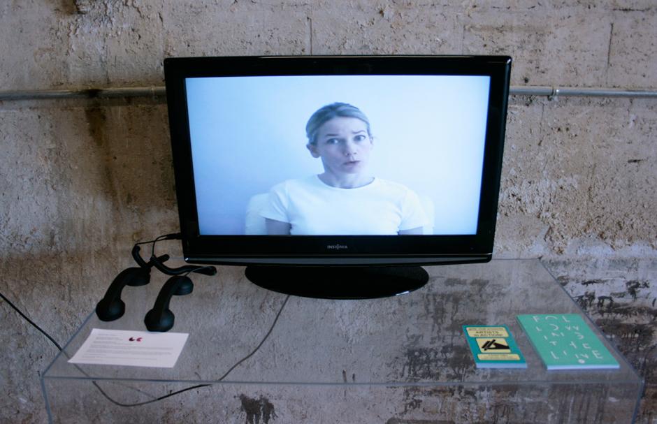 Rachel Perry Welty, Karaoke Wrong Number installation