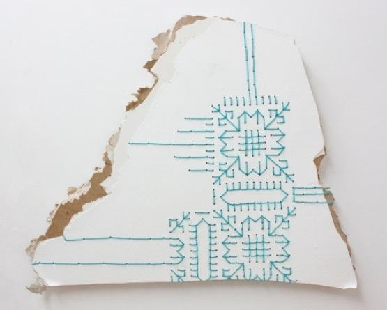 Carrie Sieh, Drywall Sampler #3, 2012